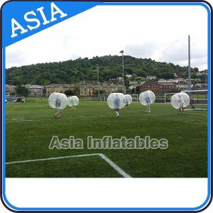 China Transparent Adult Bubble Loopy Ball / Body Zoring For Soccer Field on sale