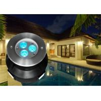 118MM Diameter LED Swimming Pool Light With RGB Color Changing Led Pool Light