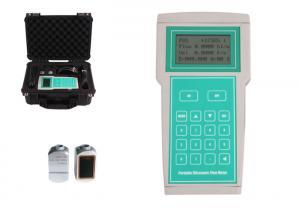 China TF1100-EH Handheld Ultrasonic Flow Meter , Digital Ultrasonic Flow Meter on sale