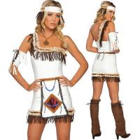 China Native American Mistress Party Adult Costumes / Funny Halloween Costumes on sale