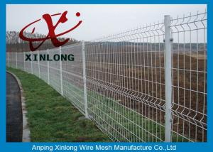 China Science & Industry Zone Welded Wire Mesh Fence / Wire Mesh Fence Panels on sale