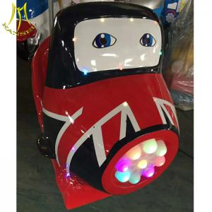 China Hansel Guangzhou used carnival rides kiddie ride on electric toy train on sale