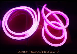 China led neon manufacturer shenzhen waterproof flexible led neon light ip68 purple 230v supplier