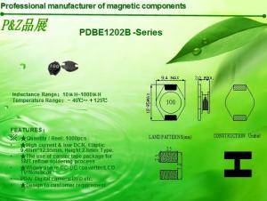 China PDBE1202 Series High current unshielded SMD Power Inductors on sale