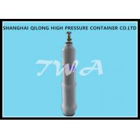 China Welding Empty Medical Steel Gas Cylinder / Oxygen Tank Portable on sale