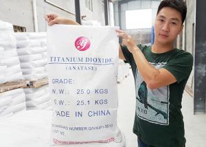 China Active Pigment Anatase Titanium Dioxide For Paint / Coating ElNECS No. 236-675-5 on sale