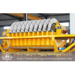 China Iron Ore Rotary Vacuum Filter Slurry Dewatering Equipment PLC Control on sale