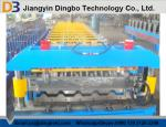 5.5kw Roof Panel Roll Forming Machine with Touch Screen PLC Control System