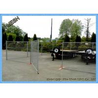 Canada 6FT*9.5FT Temp Security Fencing , Durable Temporary Fence Panel
