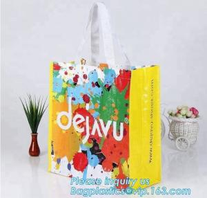 China Wholesale custom logo eco-friendly shopping bag recyclable shopping bag pp woven shopping bags,Promotion PP Woven Lamina on sale