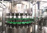 250ml Glass Bottle Filling And Capping Machine Fruit Juice Plant SGS Passed