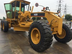 China Used Motor grader CAT 140G with ripper & blade for sale, Shanghai, China on sale