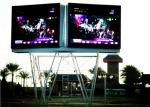 Die Casting Aluminum Rental outdoor led signs 640x640 , SMD LED Large Screen Display