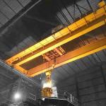 380v 50hz 3 Phase Double Girder Overhead Crane with Current Overload Protection