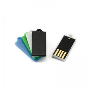 China Super Slim Plastic Mini USB Flash Memory, Waterproof Chip Slim USB Flash Drive on sale