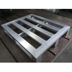 China Nonflammable Moistureproof Aluminum Pallets for Wrapping Racking Storage on sale