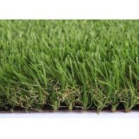 4 Tone M Shape Artificial Turf Landscaping 30mm UV Resistant Super Drainge
