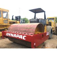 China Double Drum Used Road Roller Dynapac CA25 / CA251 / CA30 Excellent Engine Operation on sale