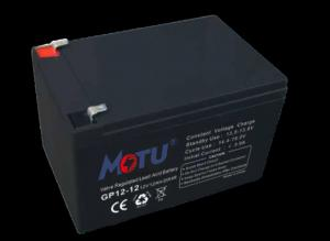 Quality Less Self - Discharging AGM Deep Cycle Battery Black Color For UPS / Solar / Lighting for sale