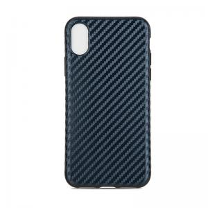 Quality Tpu Soft Customized Back Cover Case For Iphone X Iphone10 , Carbon Pattern Protective for sale