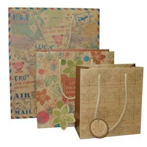 China kraft paper shopping bag on sale