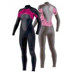 China OEM Neoprene Wet Suit 3mm GBS Women Fullsuit for Scuba Diving on sale