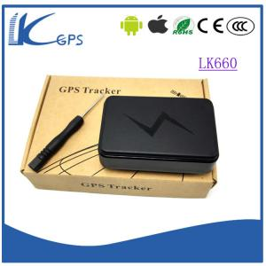 China LKgps Long time standby gps agps tracker LBS with standby 3-5 years-----Black LK660 on sale
