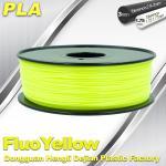 PLA Fluo-Yellow 3D Printer Fluorescent Filament  Materials 1.75 / 3.0mm