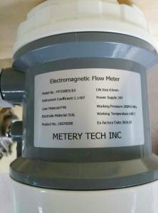 Quality SS316 Sanitary magnetic flow meter MT100E with Tri-clamp connection for sale