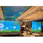 China Indoor digital LED Advertising Screens Front Access for Fixed Installation wholesale