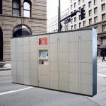 12 Doors Waterpark Electronic Storage Locker For Luggage , Package Storage Lockers