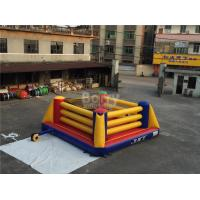 China Indoor Playground Kids Inflatable Sports Games / Inflatable Boxing Ring on sale