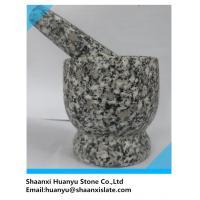 Beautiful   granite pestle and mortar sets
