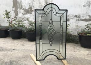 China Tinted Custom Cabinet Doors Glass , Clear Decorative Glass Inserts For Cabinet Doors on sale