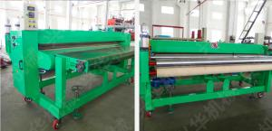 China Optional Color Carpet Floor Tiles / Die Cutting Machine ±1.5 Mm Fixed Length on sale