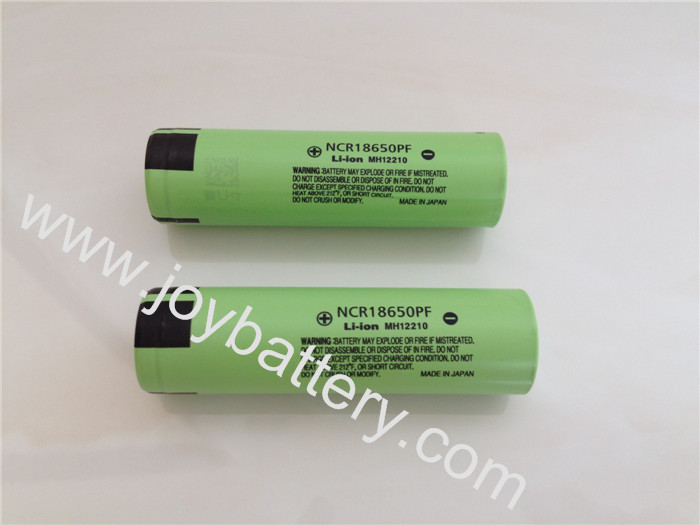 Original Panasonic 18650PF NCR18650PF 3.7V 2900mAh battery cell,Japan 18650PF 2900mAh 10A