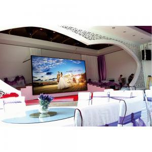 China High Gray Indoor Led Screen , 140°View Angle Anglefull Color LED Display Screen on sale