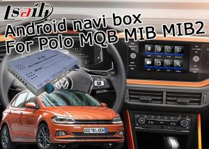 China GPS Android navigation video interface cast screen google app for VW Polo MQB MIB MIB2 6.5 and 8 inches on sale