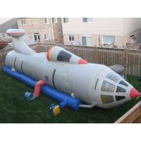 White Pvc Tarpaul Inflatable Tunnel Maze, Ininflatable Rocket Tunnel