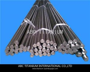 China Titanium bar, titanium and titanium alloys non-ferrous metal rod. on sale
