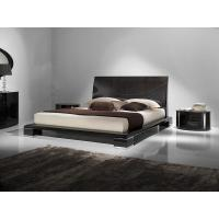 China modern leather bedroom furniture on sale