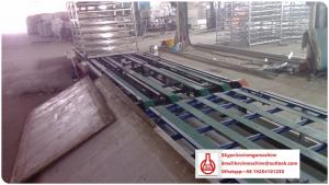 China Fireproof Insulation Magnesium Oxide MgO Board Production Line with Square / Tapered Edge on sale