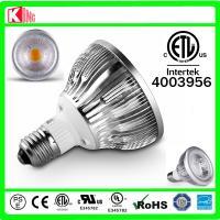 E27 COB Par30 led spotlight UL ETL CE ROHS listed