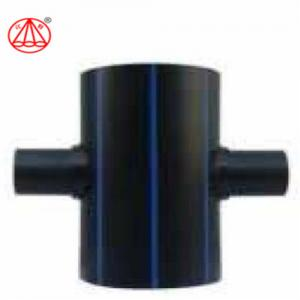 China Non Toxic Plastic Pipe End Caps , Polyethylene Pipe Fittings Customized Size on sale