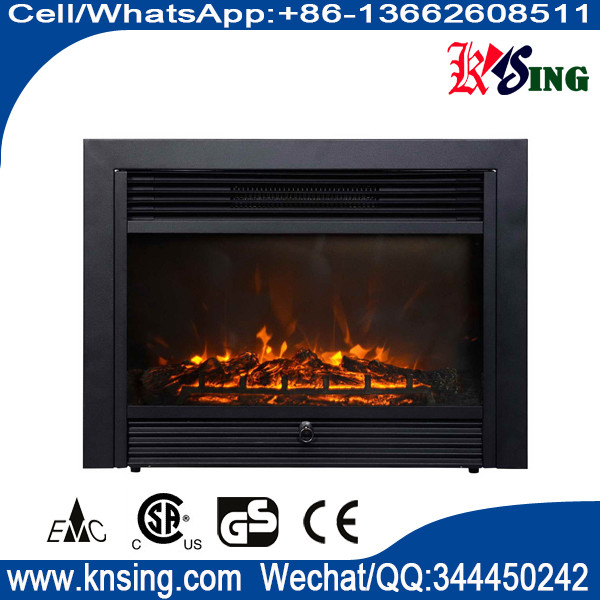 26 Insert Electric Fireplace Heater Log Led Flame Effect Ef 30d