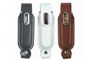China Custom Leather USB Drive on sale