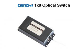 China 1x8 Fiber Optical Switch Multi Channel Single Mode , Fiber Optic Switch Module on sale