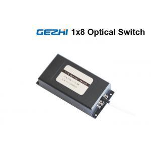 China 1x8 Fiber Optical Switch Multi Channel Single Mode , Fiber Optic Switch Module on sale