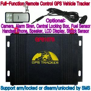 China GPS107B All-In-One AVL GPS Vehicle Tracker W/ Photo Snapshot, Remote-Control & 2-Way talk on sale