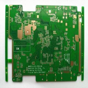 China Six Layer Pcb Board Fabrication 94V 0 Circuit Board 3Oz Copper High Tg170 Fr4 Immersion Gold on sale